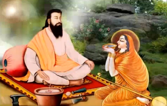Guru nanak and meera bai